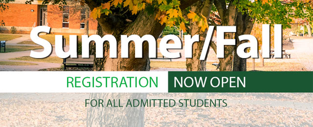 summer and fall registration open