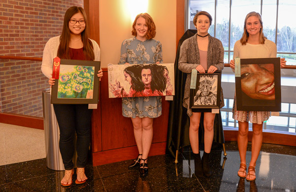2018 Congressional Art Runners Up and Honorable mention winners