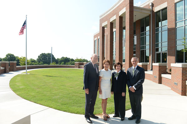 Franklin Mayor and wife with CSCC Pres and TBR Chancellor